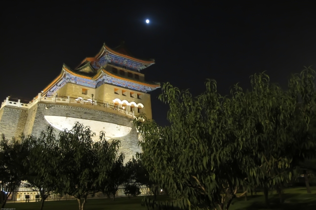 Moonlight over Beijing