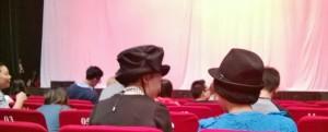 hats at concert