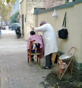 street hair cut