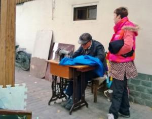 street sewing