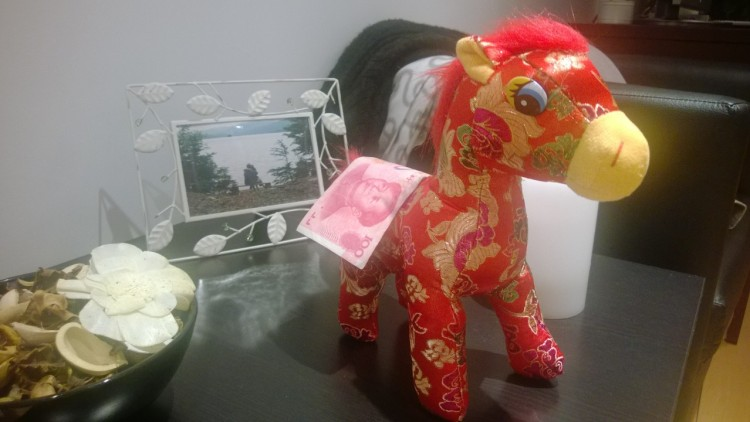 My good luck pony!
