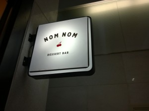 Nom Nom Dessert Bar in Shanghai