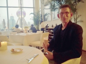 Happy Hour at Isola at the IFC Mall in Pudong