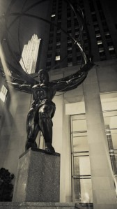 Atlas at Rockefeller Center.  Always impressive.