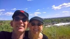 Enjoying Blue Skies in Boise