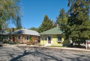 Our Hyde Park cottage in Boise.
