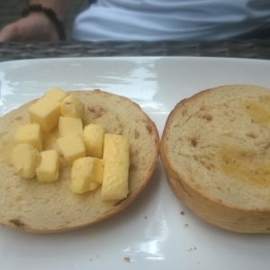 Buttered Bagel Shanghai Style