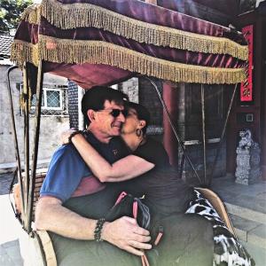 Rickshaw Romance with my one true love!