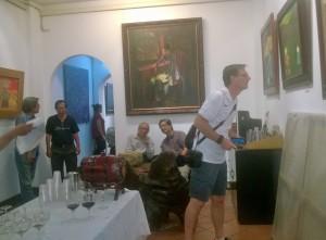 Gallery show in Saigon