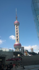 I will miss the Pearl Tower on a rare blue sky Shanghai day.