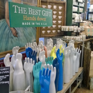 Give FishsEddy a Hand!  Best store in NYC.