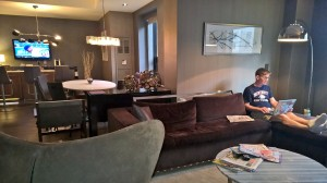 Presidential Suite at the Grand Hyatt is amazing!