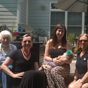 Four generations of Hoyt women