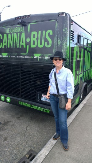 Hop aboard the Canna-bus and take a ride!  Guaranteed you'll smoke a pipe!