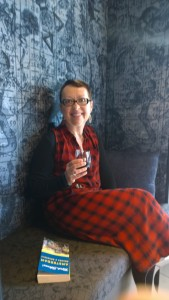 Cozy nook to sip wine at Andaz