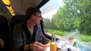 Picnic on the train