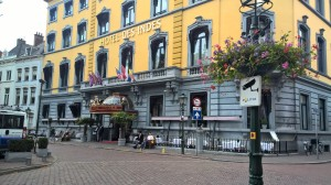 Classy and stylish, the Hotel Des Indes is the bomb!