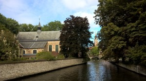 Bruges-cobblestone streets, canals, churches, waffles & beer