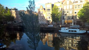 Lovely canals provide popular way to travel here