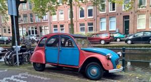 Coolest car in Amsterdam-oh the tales it could tell