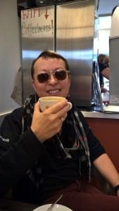 Screaming Bean cappuccino... so rich and delicious!