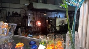 Glassblowing to make lovely treasures