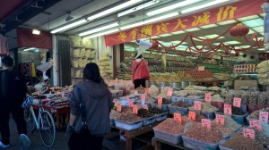 The markets in Chinatown reminded me of home in Shanghai