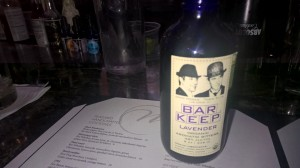 Lavender bitters--who knew?