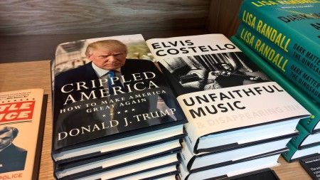 Elvis Costello would not be happy that his book is categorized by Amazon next to Donald
