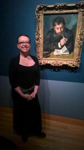 Renoir's portrait of Monet, my favorite artist.