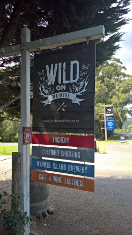 Wild on Waiheke is fun!