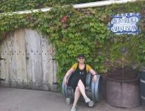 Relaxing at Stonyridge Vineyard