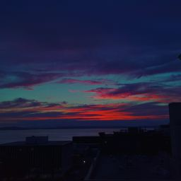 The sunsets from our home are stunning.