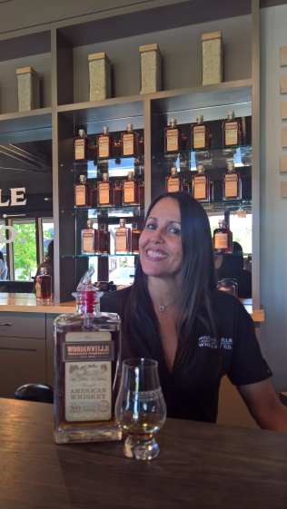 Melissa taught us the story behind each tasting and was awesome