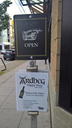 Ardbeg Whiskey Tasting