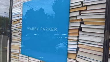 Get great glasses at Warby Parket